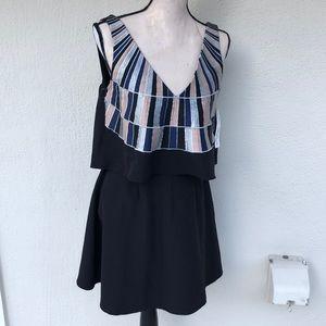 Mara Hoffman black dress, NWT